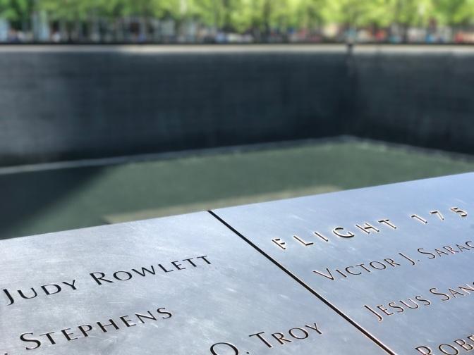 Day One: Ground Zero, serene, sad, and humble