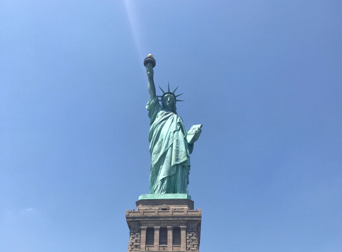 Day Three: The day I met Miss Liberty